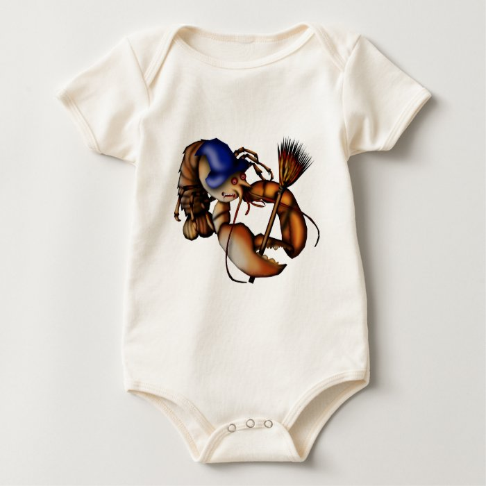 Lobster of Doom, babies or childs shirt