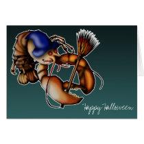 Lobster Of Doom, greeting card *