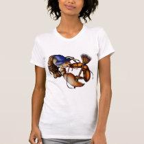 Lobster of Doom, light shirt