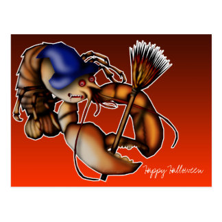 Lobster Of Doom, postcard