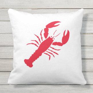 """Lobster"" Outdoor Pillow"