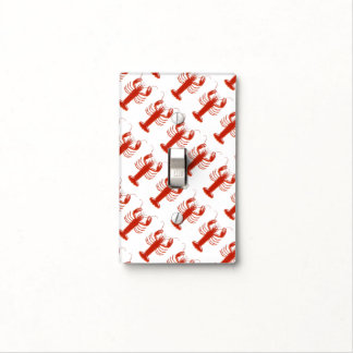 Lobster Pattern Light Switch Covers