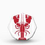 "Lobster.pdf Award<br><div class=""desc"">Acrylic Octagon Awards</div>"
