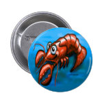 Lobster Pinback Button