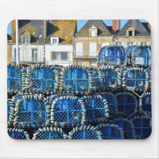 Lobster pot at Le Croisic in France Mouse Pad