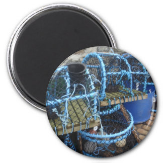 Lobster pots 2 inch round magnet