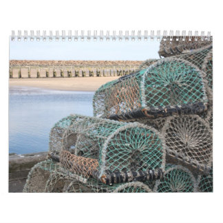 Lobster Pots at Whitby, England Calendar