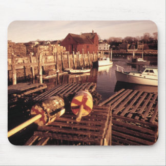 Lobster Pots Mouse Pad