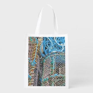 Lobster Pots Reusable Grocery Bag