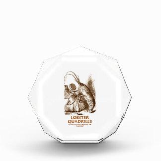 Lobster Quadrille (Brush Mirror Wonderland Humor) Acrylic Award