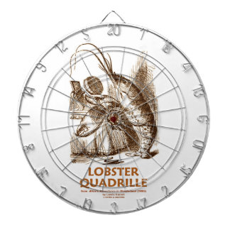 Lobster Quadrille (Brush Mirror Wonderland Humor) Dartboards