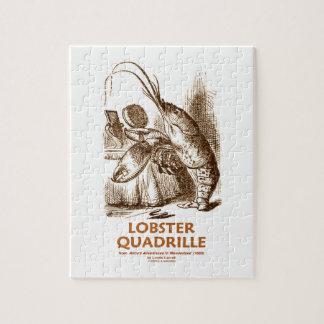 Lobster Quadrille (Brush Mirror Wonderland Humor) Puzzle