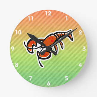 Lobster Round Clock