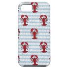 lobster seersucker iPhone SE/5/5s case