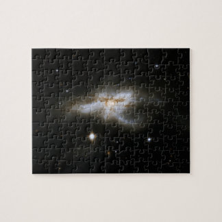Lobster-shaped Galaxy NGC 6240, in Ophiuchus Jigsaw Puzzle
