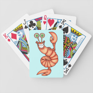 Lobster Shellfish Exercise Playing Cards