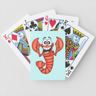 Lobster Shellfish Playing Cards