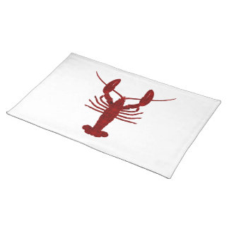 Lobster Silhouette Placemat