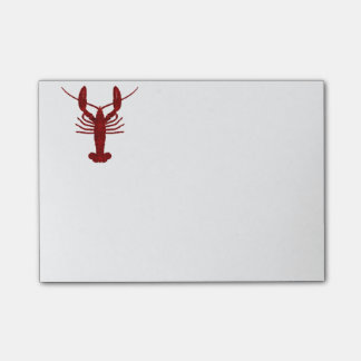 Lobster SIlhouette Post-it® Notes