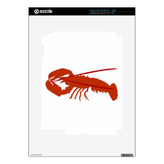 Lobster Decals For iPad 2