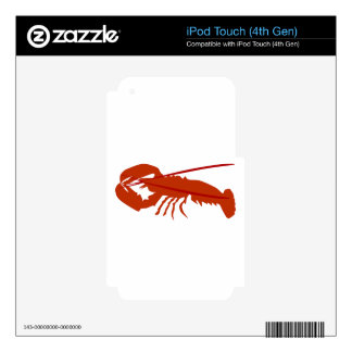 Lobster iPod Touch 4G Skin