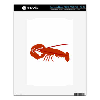 Lobster Decals For The NOOK