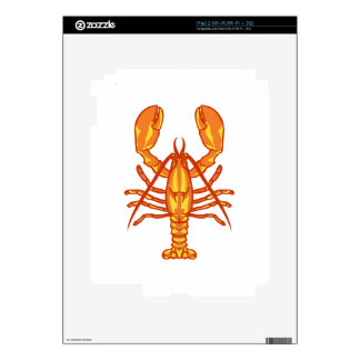 Lobster Decal For The iPad 2