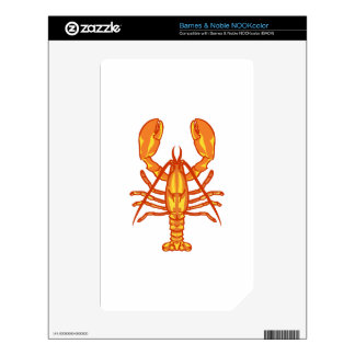 Lobster Decals For The NOOK Color