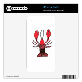 Lobster Skins For The iPhone 4