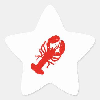 Lobster Star Sticker