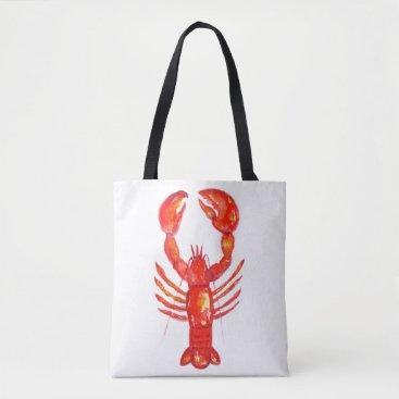 Lobster Tote Bag, Girls Weekend Tote, Fishing Bag