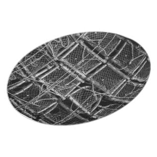 Lobster Trap Maze Melamine Plate
