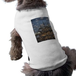 Lobster Traps and Tall Ship Masts Doggie Tee