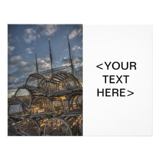Lobster Traps and Tall Ship Masts Flyers