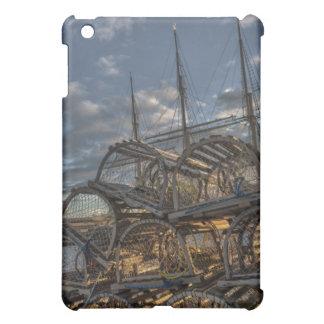 Lobster Traps and Tall Ship Masts iPad Mini Case