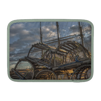 Lobster Traps and Tall Ship Masts MacBook Sleeve