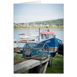 Lobster traps card