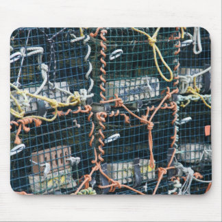 Lobster traps, Nova Scotia Mouse Pad