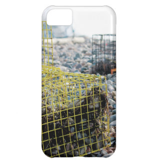 Lobster Traps on Rocky Beach Case For iPhone 5C