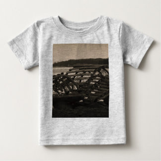 Lobster Traps Sepia T-shirt
