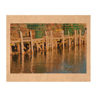 Lobster Traps stacked On Pier On Coast Of Maine Queork Photo Prints