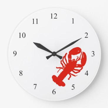 Professional Business Lobster Wall Clock