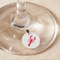 """Lobster"" Wine Charm"