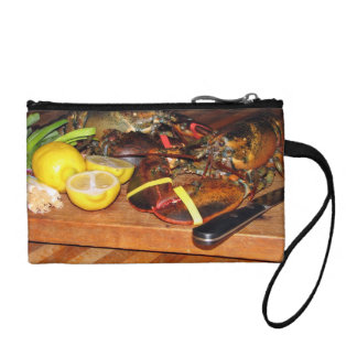 Lobster with vegetables coin purse