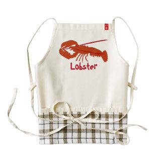 Lobster Zazzle HEART Apron