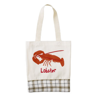 Lobster Zazzle HEART Tote Bag
