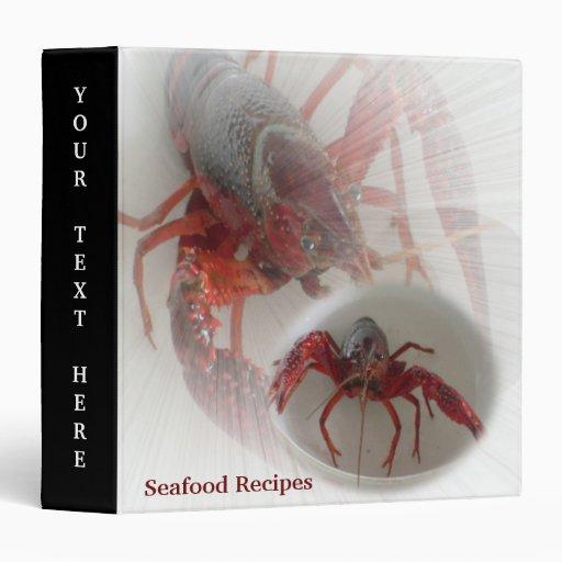 Lobsters Avery Binder