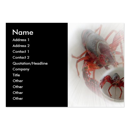 Lobsters Business Card