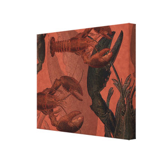 Lobsters Canvas Art Print Gallery Wrap Canvas