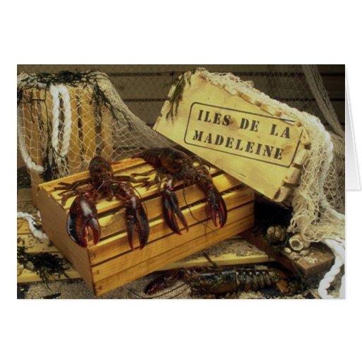 Lobsters Greeting Card